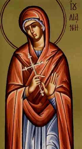 Αποτέλεσμα εικόνας για Αγία Ιουλιανή